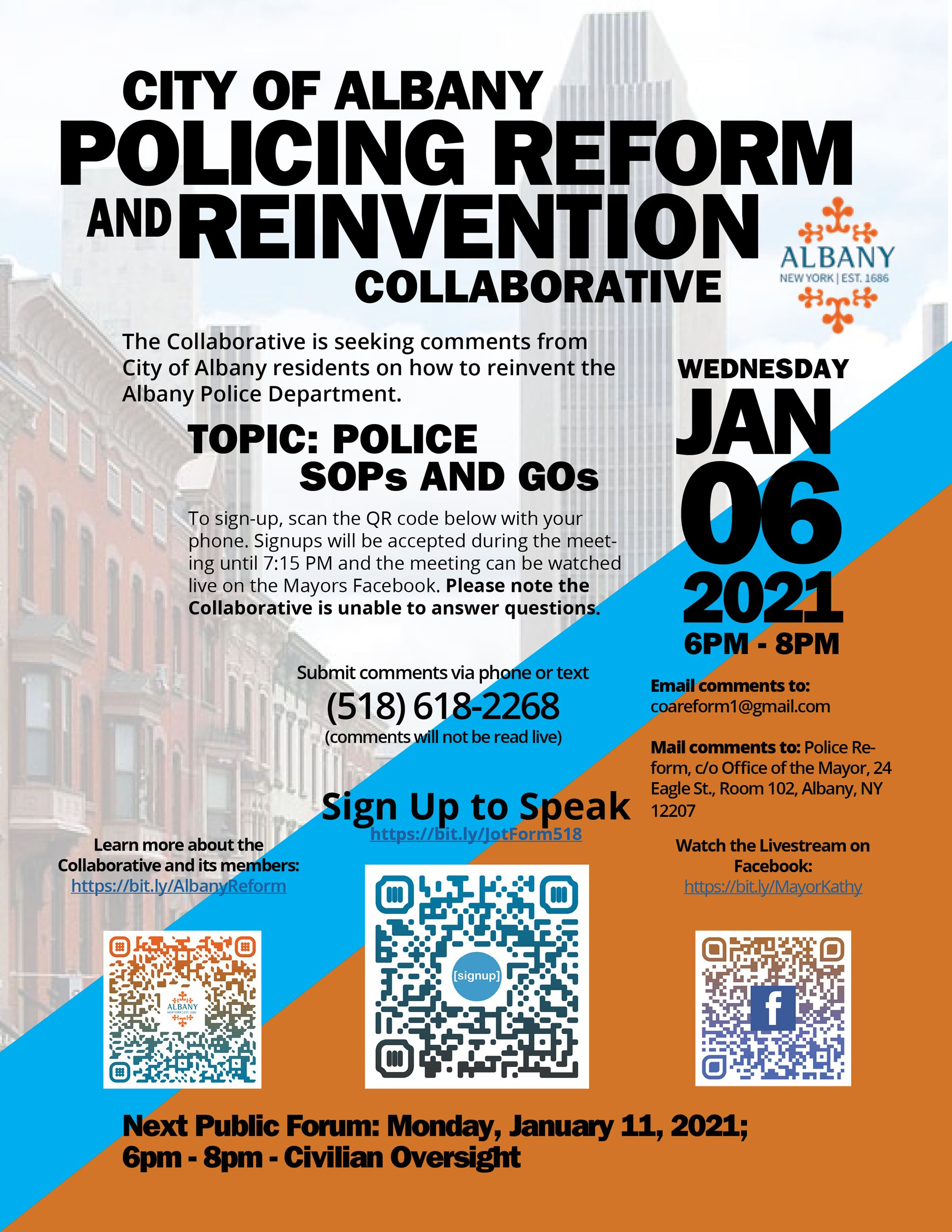 Policing Reform Flyer - Jan 6th (JPG)