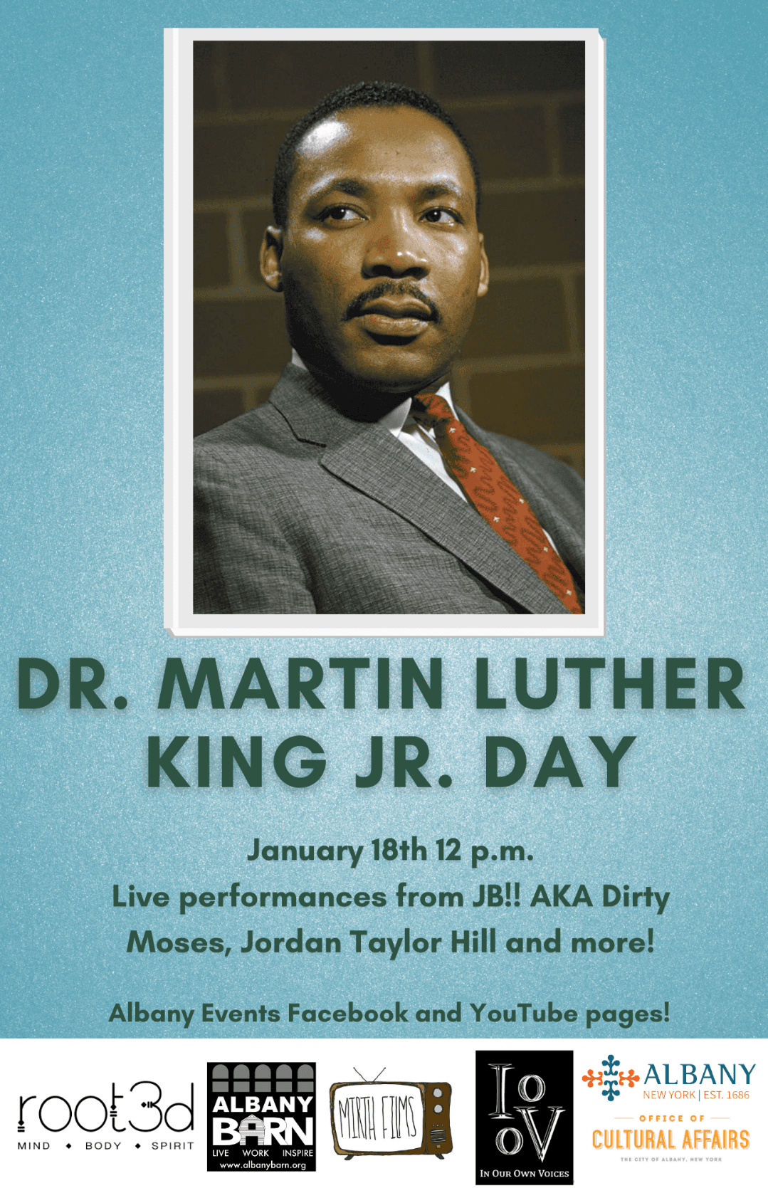 Dr. Martin Luther King Jr Day Flyer