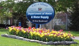 Department of Water and Water Supply Sign